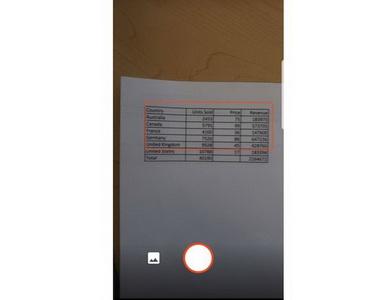 Excel научился преобразовывать бумажные таблицы в электронные