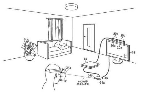 Sony запатентовала беспроводную VR-гарнитуру